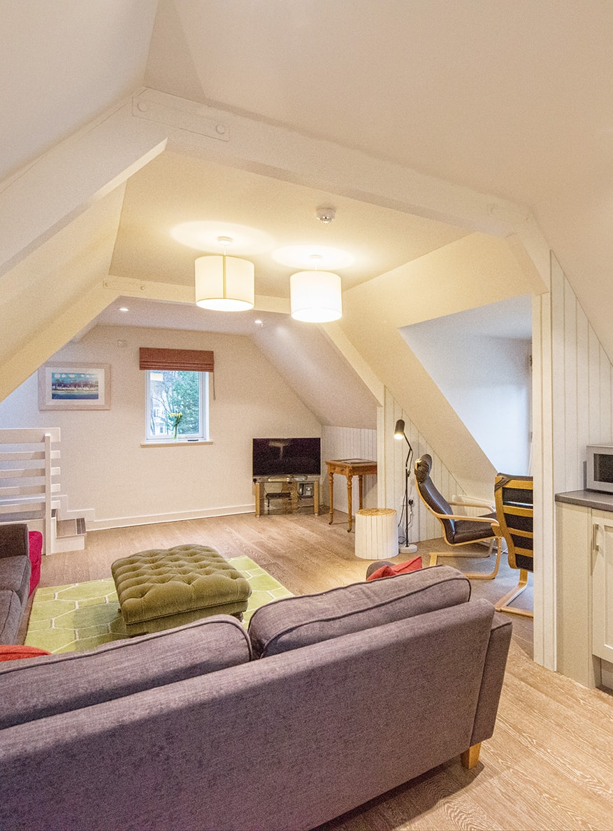 Casa 21 Scottish Holiday Home Lounge