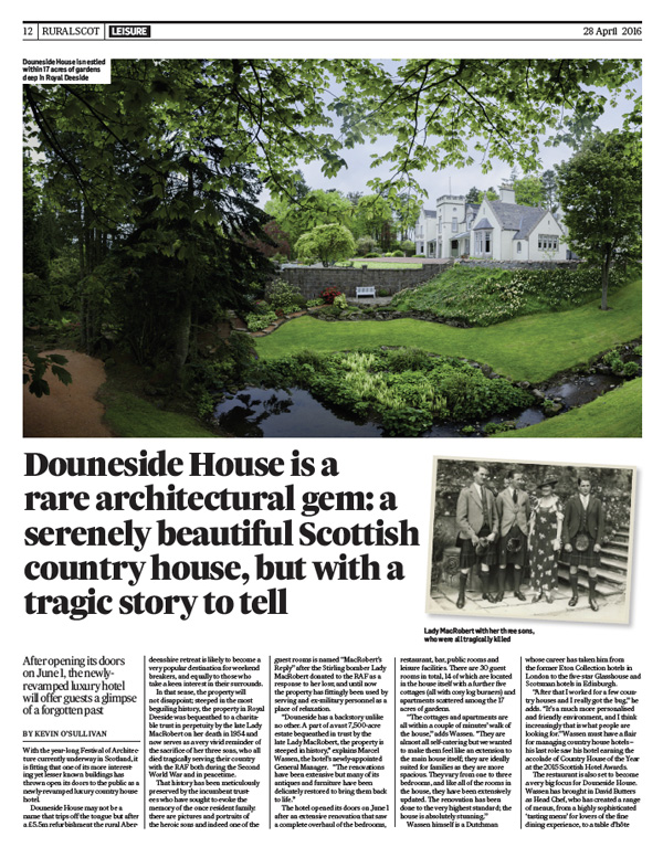 douneside in the times