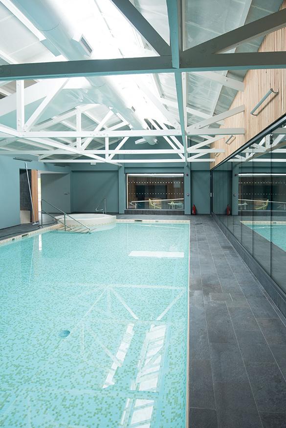 douneside house swimming pool aberdeenshire